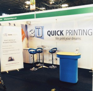3d quick printing at tct show