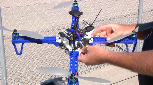 3D drone for British Navy