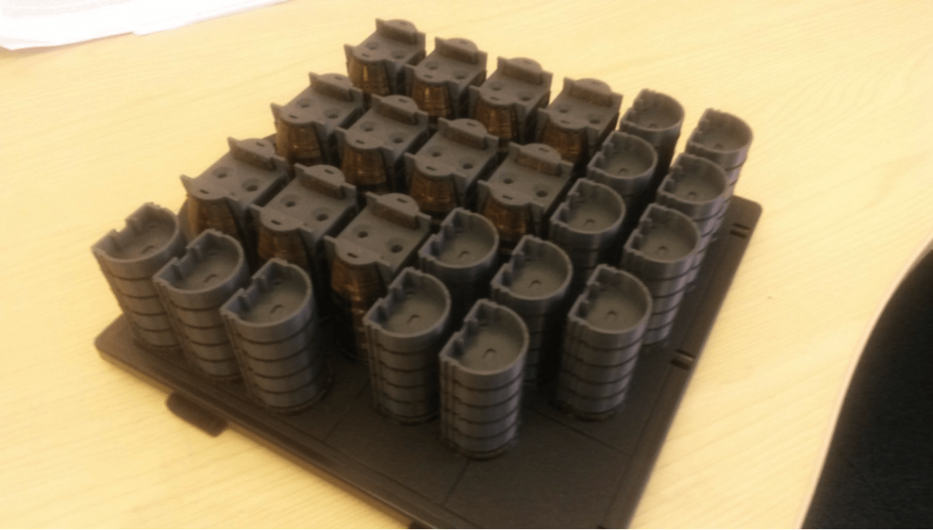 3d printing stacked parts